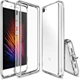 Xiaomi Mi 5 Case, Ringke [Fusion] Crystal Clear PC Back TPU Bumper [Drop Protection/Shock Absorption Technology][Attached Dust Cap] for Xaomi MI 5 (Clear)