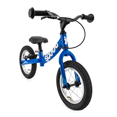 "Ridgeback UK 2020 US Edition Scoot 12"" Balance Bike in Blue (Age 3-6): Sports & Outdoors"