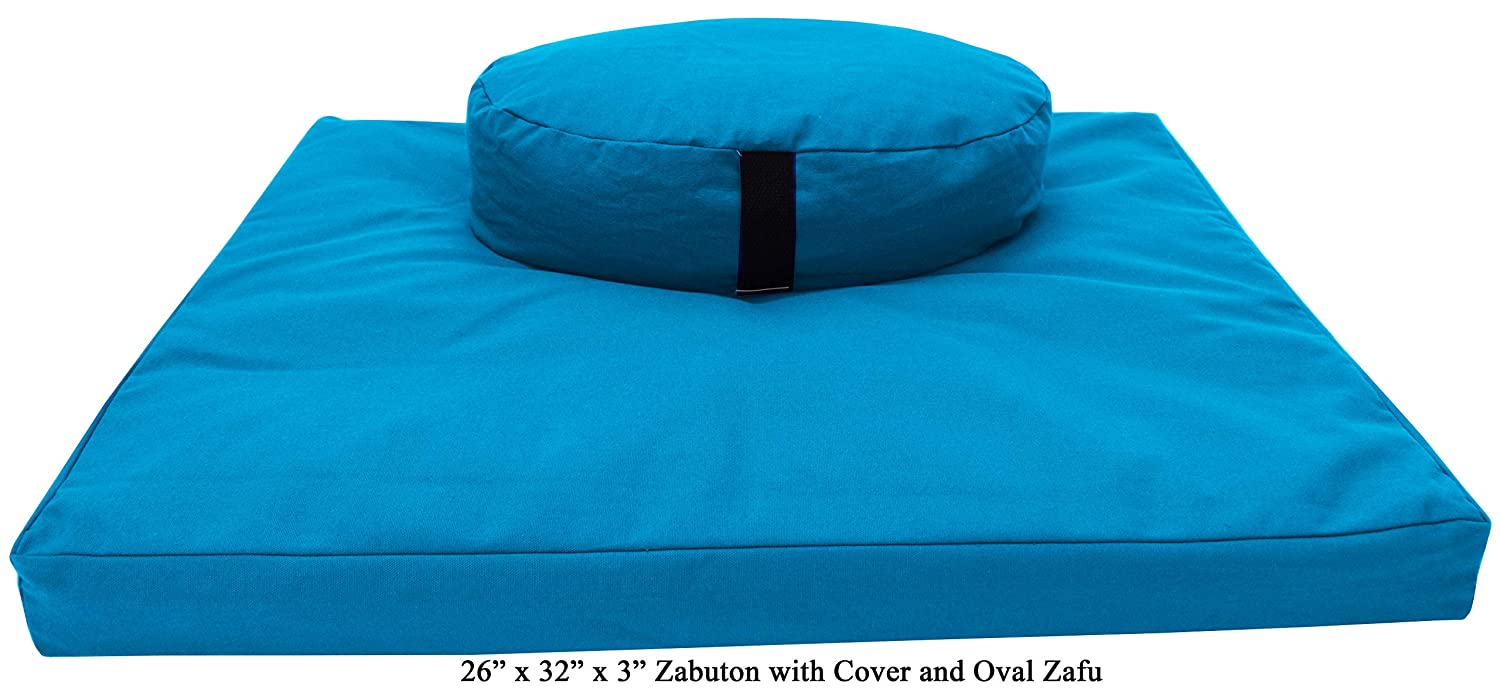 Bean Products Zafu Meditation Cushion Set