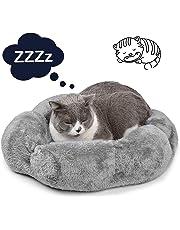 Legendog Cama Gato, Deluxe Acogedor Cómodo Fleece Mascotas Perro Camas Interior Gato Nest Sleeping Bag