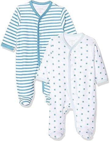 Nursery TIME 3 Pack BLU COTONE CANOTTA SENZA MANICHE BABY BODY