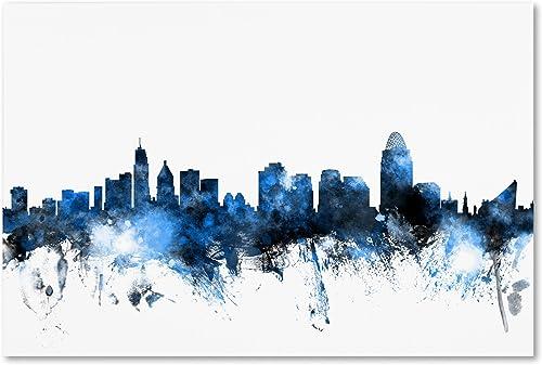 Cincinnati Ohio Skyline II