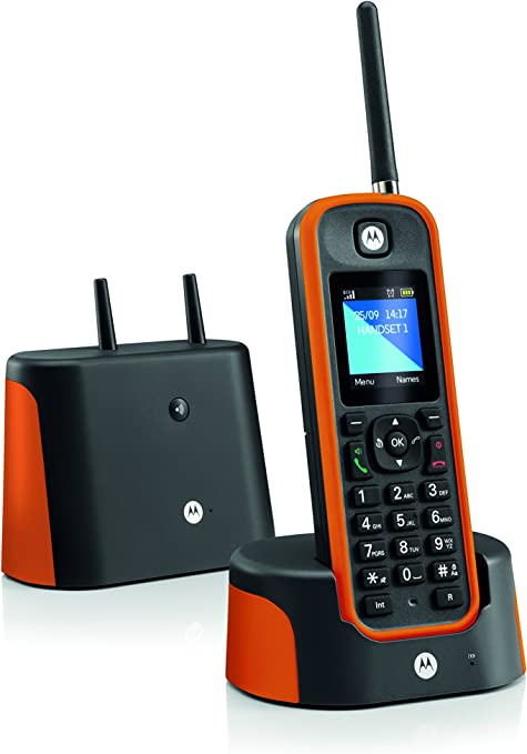 Motorola MOT31O201NA - Teléfono inalámbrico DECT (Largo Alcance): Amazon.es: Electrónica