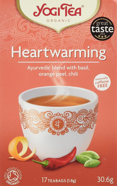 Amazon.com : Yogi Tea - Heartwarming - 30.6g : Grocery ...