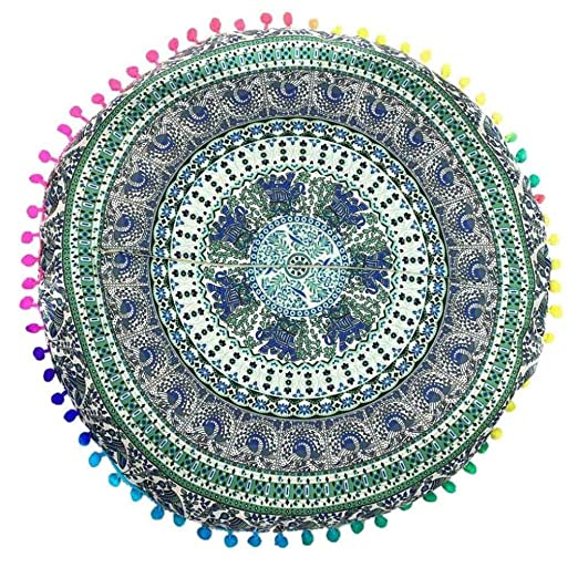 Sonnena funda de almohada Indian Mandala cojín de suelo ...