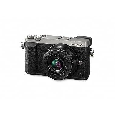 Panasonic Lumix GX85 4K Mirrorless Camera Kit with 12-32mm Lens (Silver)