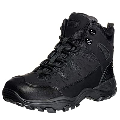 "Ameritac 6"" Striker Elite Work Outdoor Tactical Men's Black Boots - 10.5: Shoes"