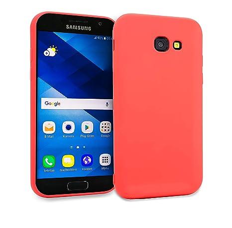 MyGadget Funda Slim para Samsung Galaxy A3 [2016] en Silicona TPU - Anti Rasguños - Carcasa Protectora Ultra Delgada [ 1,2 mm ] cómoda - Rosado