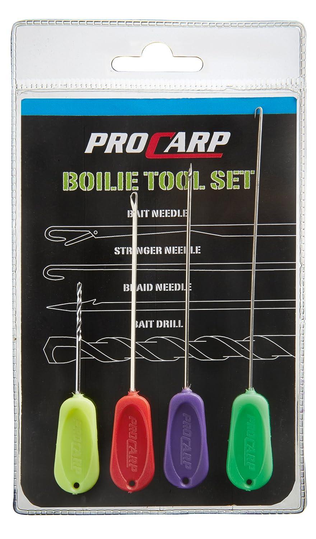 indispensable 4 piezas taladros y agujas Cormoran PRO CARP Boilie Tool Juego completo