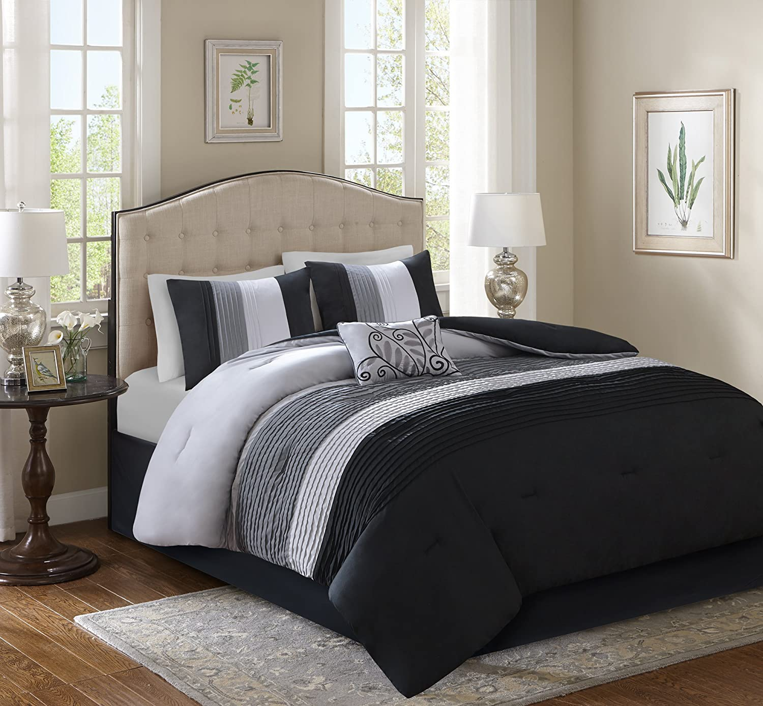 Comfort Spaces - Windsor Comforter Set- 5 Piece
