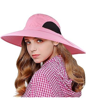 944f5277c1862 EINSKEY Wide Brim Sun Hat Summer UV Protection Beach Hat Showerproof Safari  Boonie Hat Foldable Fishing