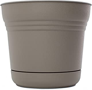 """product image for Bloem 818573014870 SP0760 Saturn Planter, 7-Inch, Peppercorn, 7"""""""