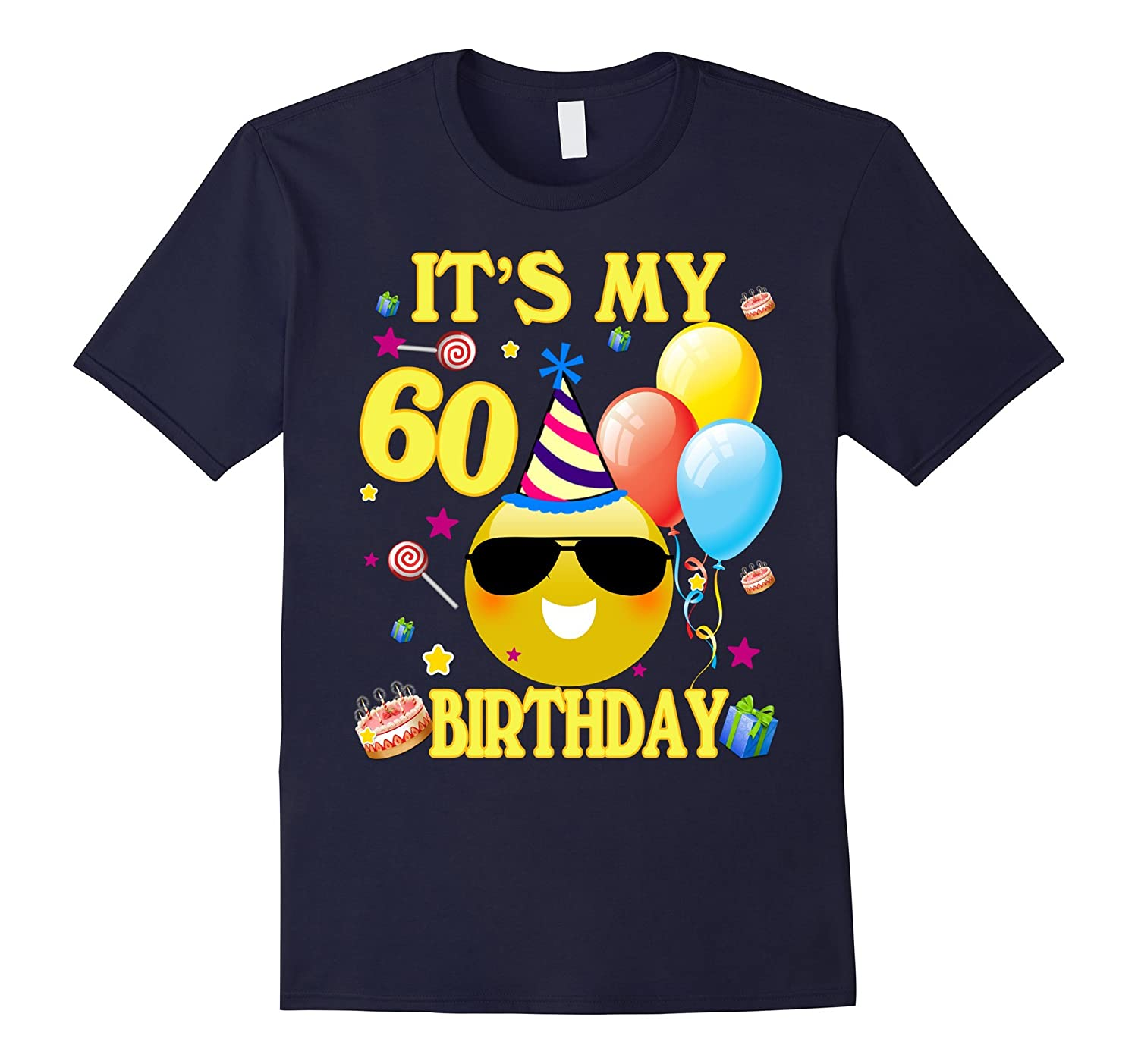 Its My 60th Birthday Shirt 60 Years Old Gift ANZ
