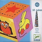 Djeco - 76445 - 10 Cubes Imagiers