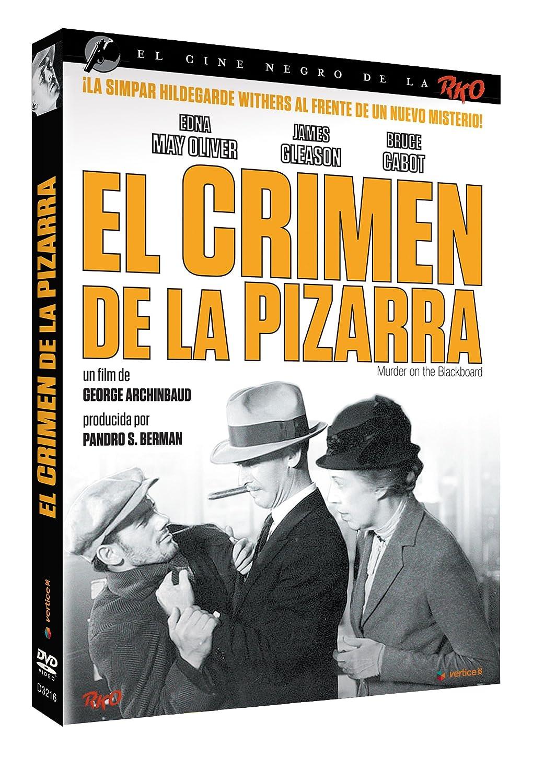 Cine Negro RKO: El Crimen De La Pizarra [DVD]: Amazon.es ...