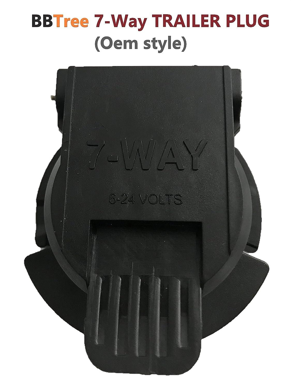 OEM Style 807 RV 7-Way Socket ,7-pin Connector Socket