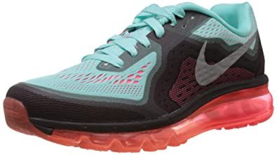 sports shoes 1e0ef 68da4 Nike Women s Air Max 2014 Hyper Turquoise,Reflect Silver,Hyper Punch  Running Shoes -