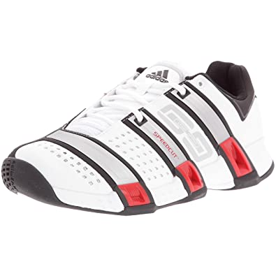 adidas Stabil Optifit - Chaussures Indoor Homme - Blanc Argent Noir, Blanc  3d710c64b1c0