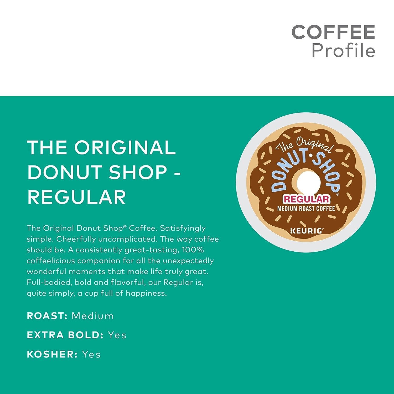 The Original Donut Shop Keurig Single-Serve K-Cup Pods, Regular Medium  Roast Coffee, 72 Count: Amazon.com: Grocery & Gourmet Food