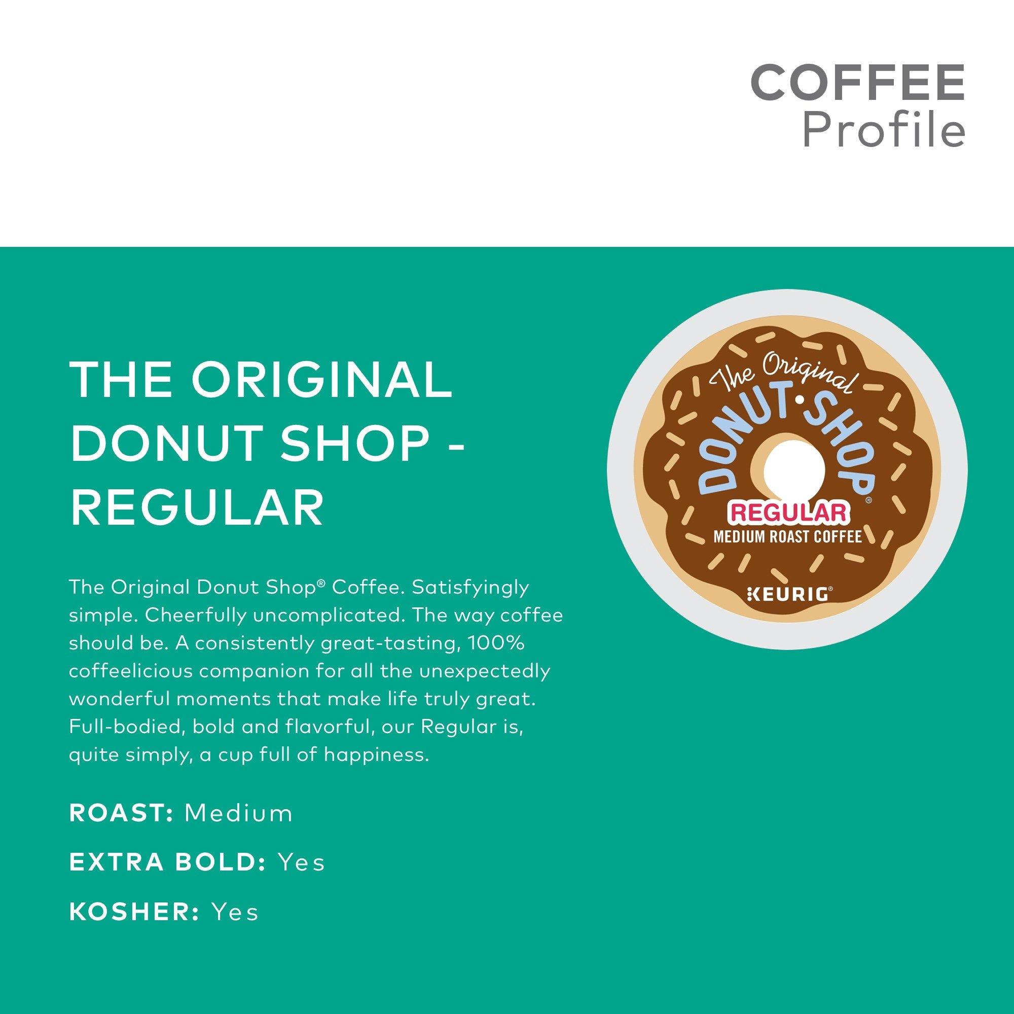 The Original Donut Shop Coffee, Regular Medium Roast, K-Cup Portion Count for Keurig Brewers 24-Count (Pack of 4) by The Original Donut Shop (Image #5)