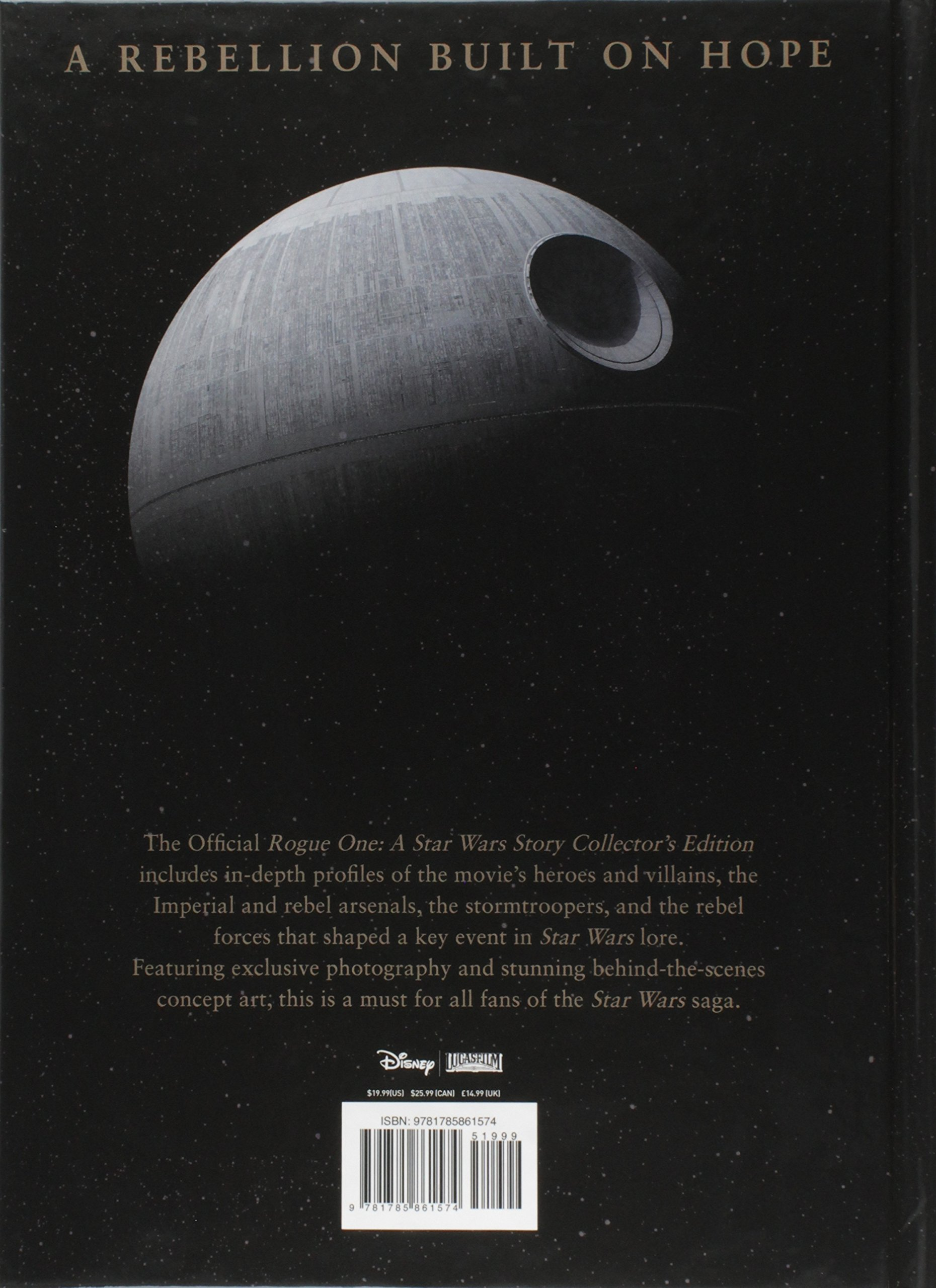 star wars rogue one a star wars story the official collector s edition titan 9781785861574 amazon com books star wars rogue one a star wars story