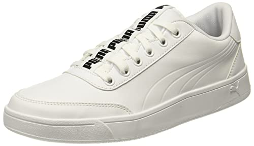 Puma Men s Court Breaker Bold White Sneakers-12 UK India (47 EU ... d9cef3a37