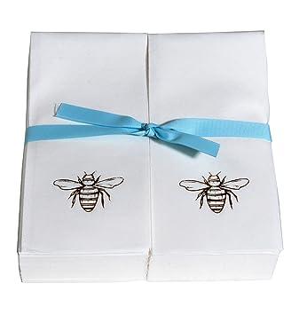 amazon com personalized 200 disposable guest nature s linen hand rh amazon com
