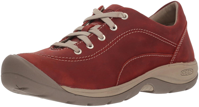 KEEN Women's Presidio II-W Hiking Shoe B071Y6298W 10.5 B(M) US|Cracker Jack/Plaza Taupe