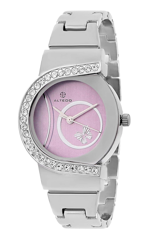 Altedo Analogue Purple Dial Womens Watch-605Pdal