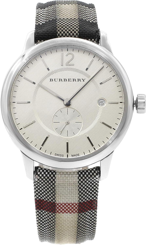 Burberry BU10002 - Reloj de Cuarzo Redondo para Hombre (Certificado prepropietario)
