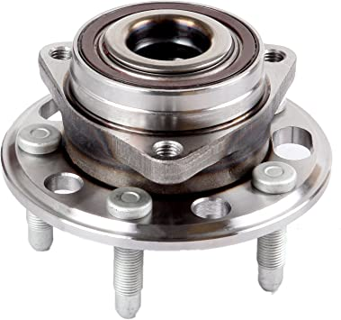 11-16 Buick Regal 14-17 Chevy Impala FKG 513288 Front or Rear Wheel Bearing Hub Assembly for 13-16 Cadillac XTS Chevy Malibu 5 Lugs Set of 2 10-16 Buick Lacrosse GMC Terrain Chevy Equinox