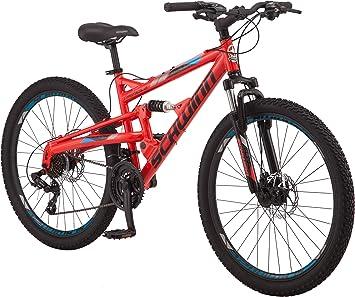 Schwinn Protocol 1.0 Bicicleta de montaña de doble suspensión para ...