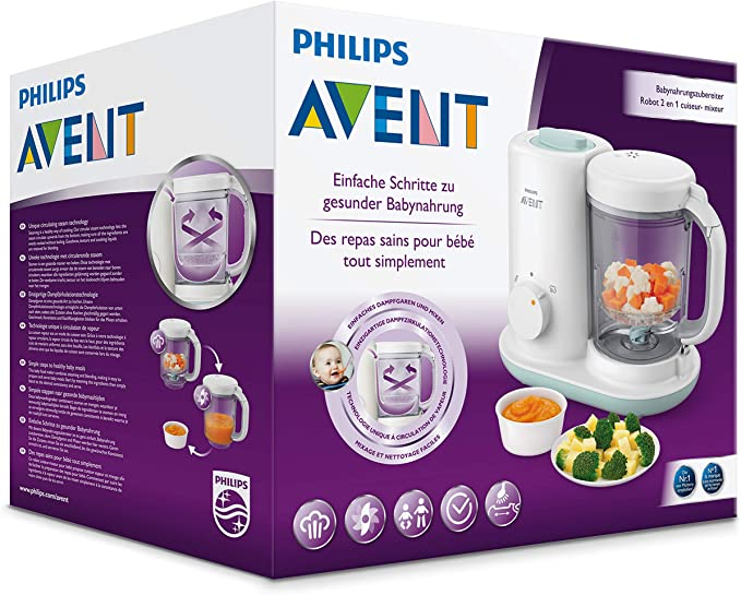 Philips AVENT scf862/02 Baby nahrungszu Émbolo, color blanco: PHILIPS AVENT: Amazon.es: Bebé