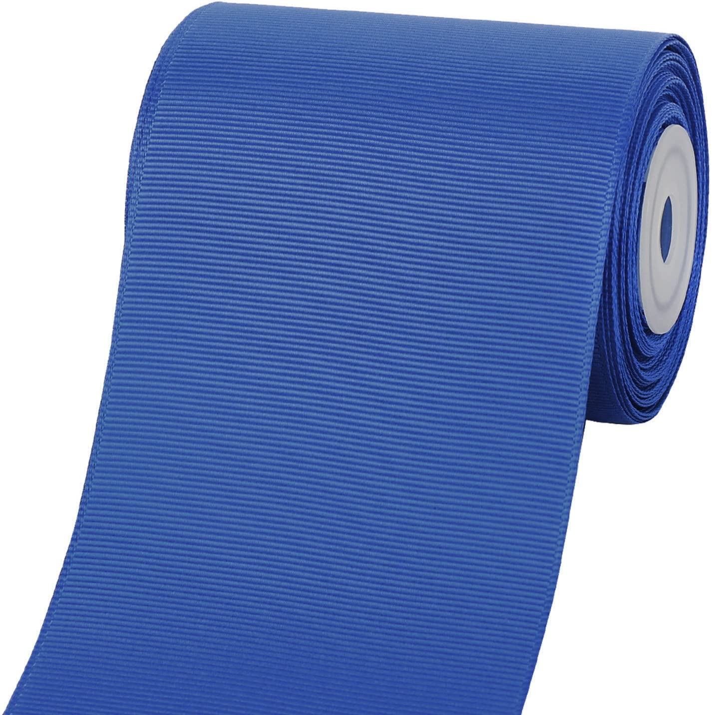 10 Yard//Spool 350 Royal Blue LaRibbons 3 Inch Wide Solid Color Grosgrain Ribbon