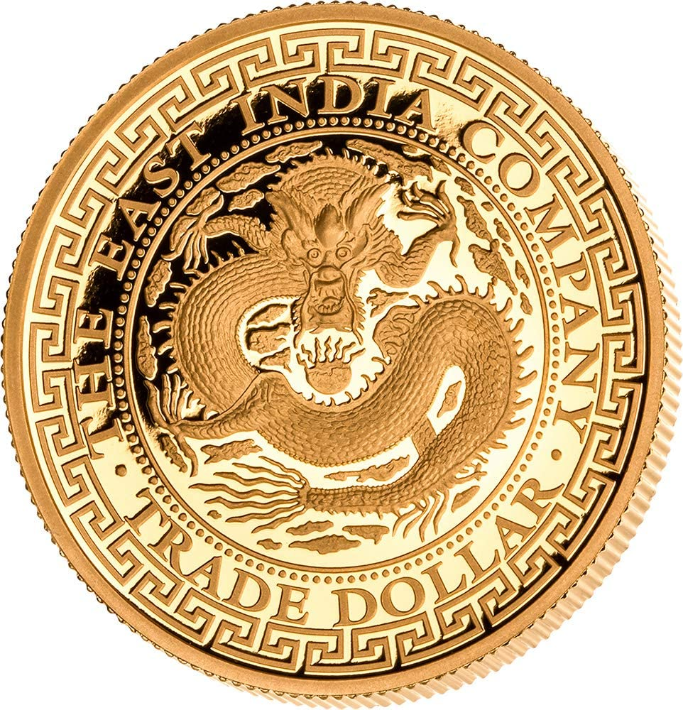 Power Coin Chinese Chino Trade Dollar 1 Oz Moneda Oro 250$ Niue ...