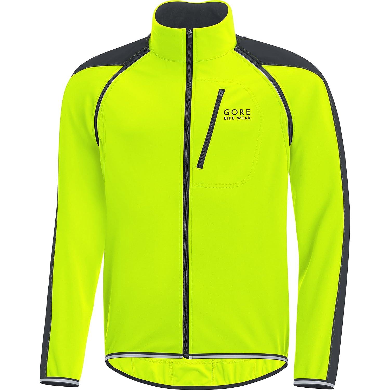 GORE WINDSTOPPER Black-and-white GORE BIKE WEAR Mens Cycling Jacket Jacket Super Light JWELMS Size: XXL