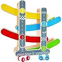 Hape E0438 Fast Flip Racetrack Toddler Toy, Multicolor