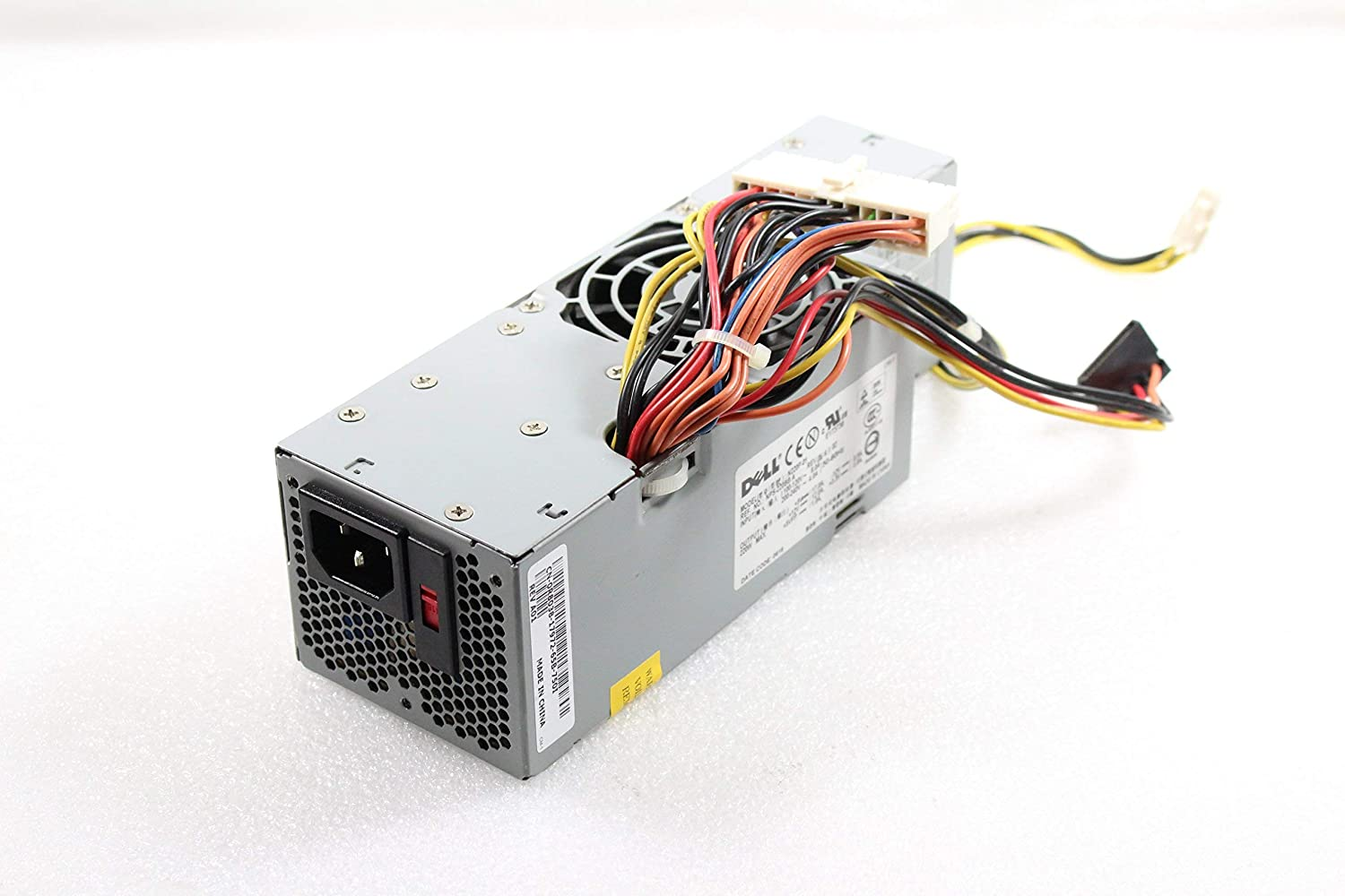Genuine DELL 220w Power Supply PSU For the Optiplex GX520 and GX620 Small Form Factor Systems (SFF) Dimension 5100c Systems Part Numbers: YD358 R8038 N8368 XM554 Model: H220P-01 N220P-01 (Renewed)
