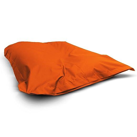 4 opinioni per 1buy3 Poltrona a sacco arancione XXL 145cm x 180cm completamente imbottita |