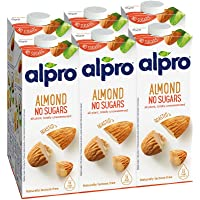 Alpro Almond No Sugars, 1L, Pack of 6