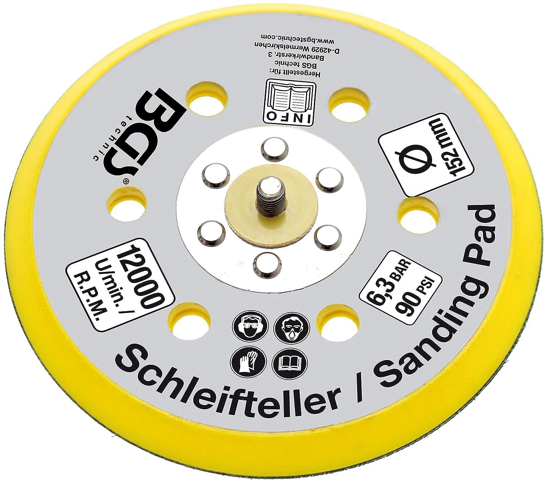 BGS Druckluft Exzenterschleifer 8688