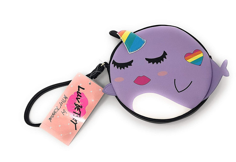 Amazon.com: Betsey Johnson UNICORN - Monedero de color lila ...