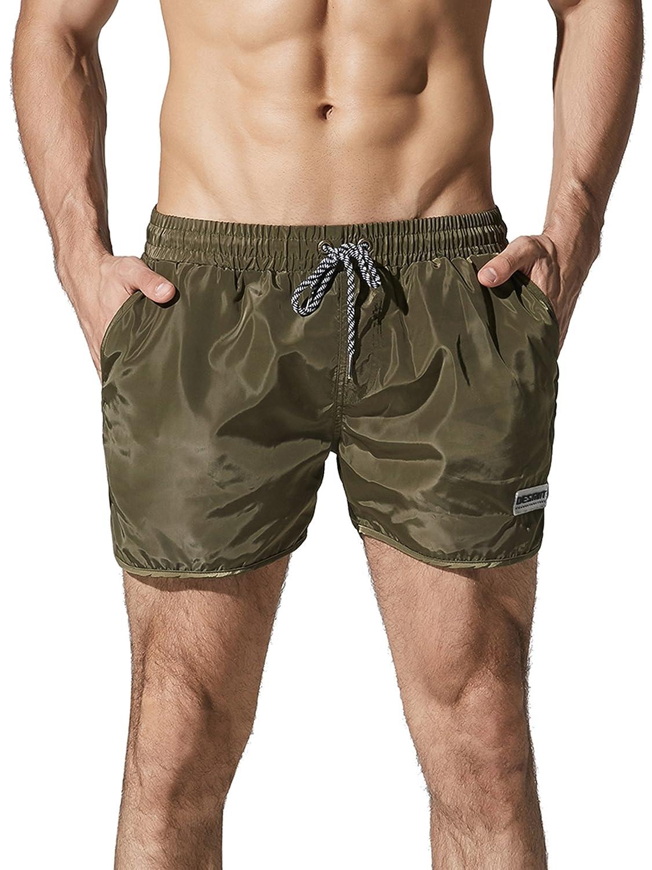 Neleus メンズドライフィットショーツ ポケット付き B0711FZMYT XS,708# Olive Green