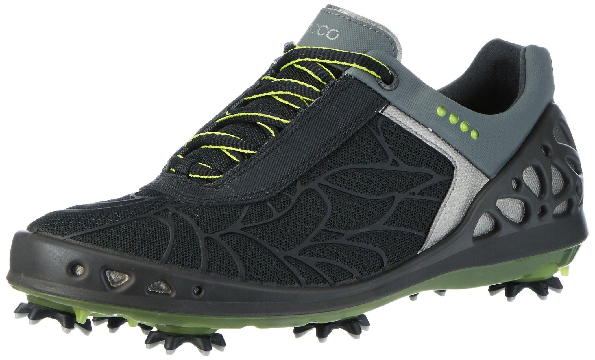 ECCO Women's Cage Evo Golf Shoe, Black, 41 EU/10-10.5 M US
