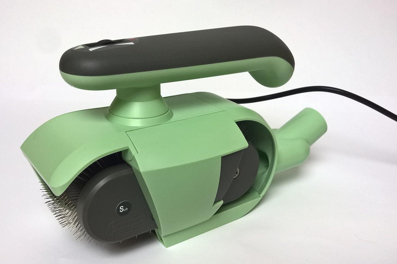 Elektrische Hundebürste FurWonder® Basic Mint zum Entfilzen Kämmen Bürsten Massieren