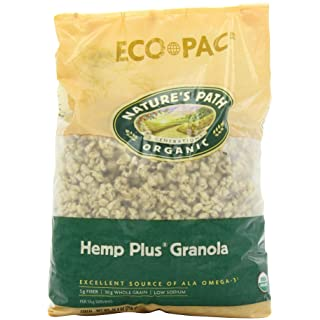 Nature's Path Hemp Hearts Granola, Healthy, Organic, 26.4-Ounce Eco Pac (Pack of 6)