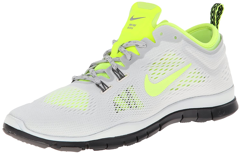 Nike Free 5.0 TR Fit 4 Damen Hallenschuhe  38 EU|Grau (Ivry/Vlt-lght Ash-lght Ash Gry 103)