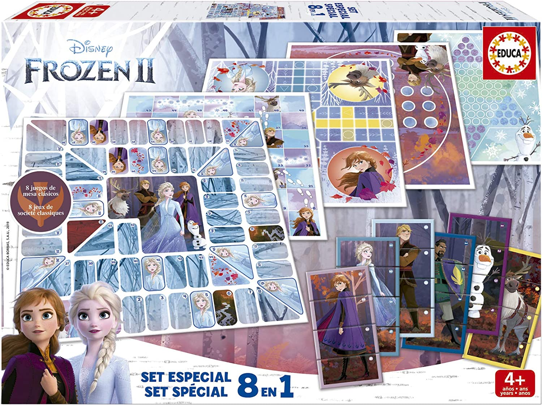 Educa- Frozen Set Especial 8 Juegos, a Partir de 4 años (18379): Amazon.es: Juguetes y juegos