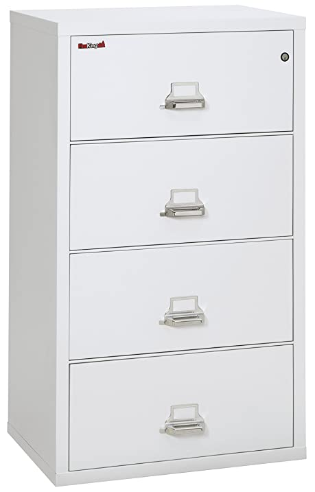 Fireking Fireproof Lateral File Cabinet (4 Drawers, Impact Resistant,  Waterproof), 31u0026quot