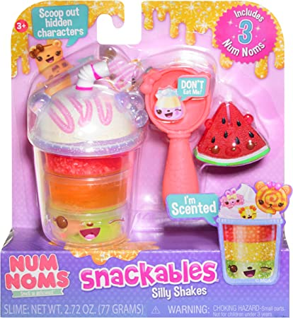 Multicolor Neapolitan Shake Num Noms Snackables Silly Shakes